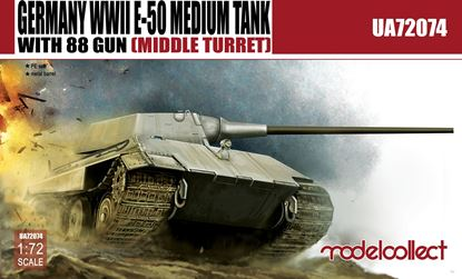 Picture of Germany WWII E-50 Medium Tank with 88 gun (large turret)