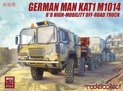 Picture of German MAN KAT1M1014 8*8 HIGH-Mobility off-road truck